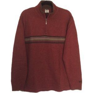 Columbia Rust Wool Blend Sweater